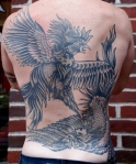 Cockfight Back Piece