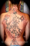 Kali Back Piece
