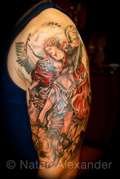 Saint Michael Archangel Tattoos